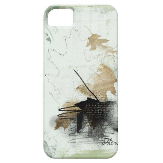 fallen leaf iPhone SE/5/5s case