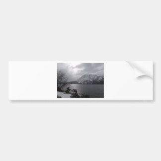 Fallen Leaf Lake Car Bumper Sticker
