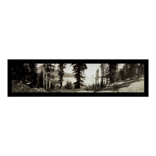 Fallen Leaf Lake Photo 1906 Posters