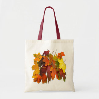 FALLEN LEAVES # 2 ~ Budget Tote