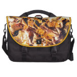 Fallen Leaves Autumn Winter Watercolor Art Bags For Laptop