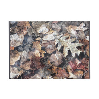 Fallen Leaves Autumn Winter Watercolour Art iPad Mini Covers