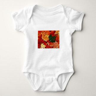 Fallen Leaves Baby Bodysuit