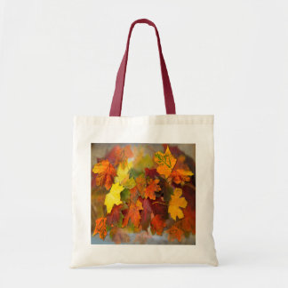 FALLEN LEAVES ~ Budget  Tote