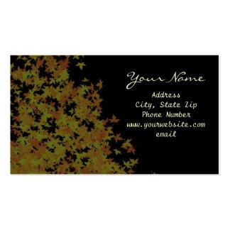 Fallen Leaves Business Card