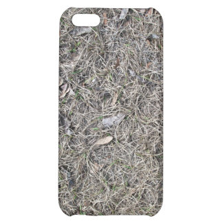 Fallen Leaves on Dry Grass Background Texture iPhone 5C Case