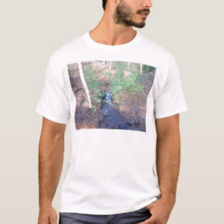 Fallen Leaves On The Forest Floor T-Shirt