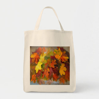 FALLEN LEAVES ~ Organic Grocery Tote