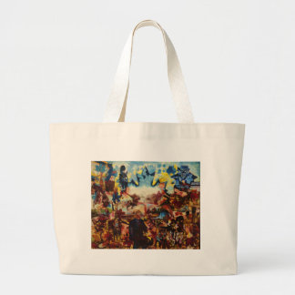 Fallen Leaves remembered by John Hart Large Tote Bag