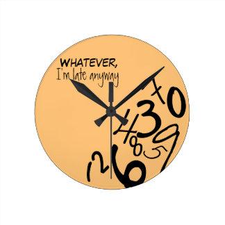 Fallen Numbers Clock