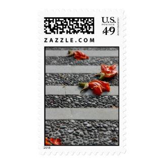 Fallen Petals Stamp
