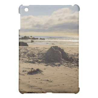 Fallen Sand Castle On The Beach iPad Mini Cover