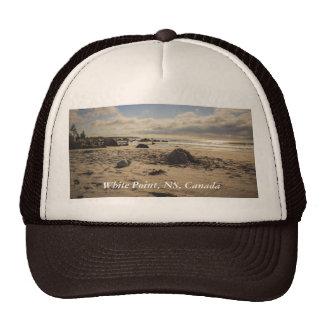 Fallen Sand Castle On The Beach Trucker Hat