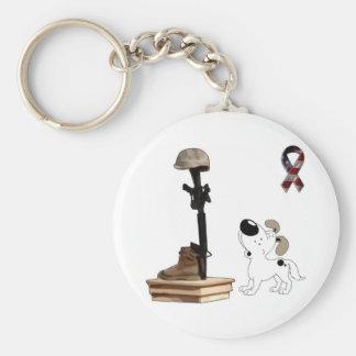 Fallen Soldier - Cutie Mourns Keychain