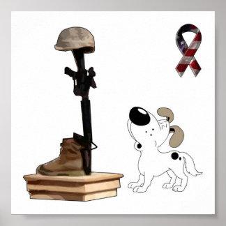 Fallen Soldier - Cutie Mourns Poster