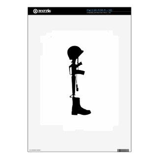 Fallen Soldier iPad 2 Skin