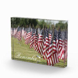 Fallen Soldier Memorial Flag Garden Award