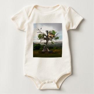 Fallen Soldier's Cross Baby Bodysuit