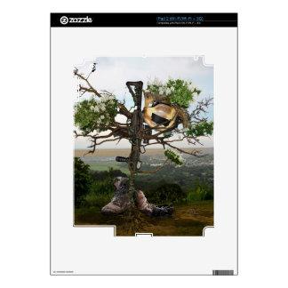 Fallen Soldier's Cross Skin For iPad 2