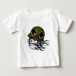 Fallen Soldier Skull Baby T-Shirt