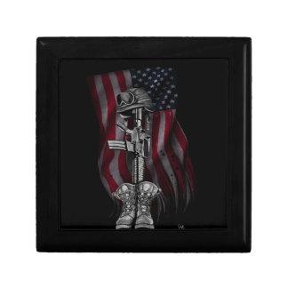 Fallen Soldier Valuables Case Jewelry Box