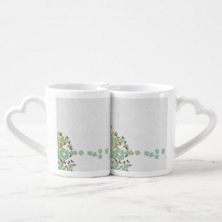 Fallen tree abstract coffee mug set