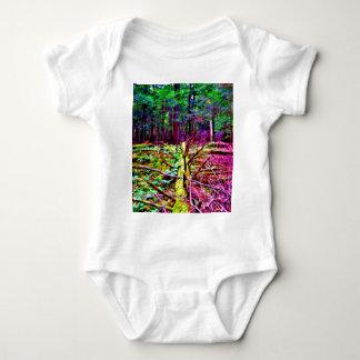 Fallen Tree Baby Bodysuit