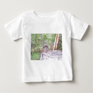 Fallen Tree with Stump in Forest Baby T-Shirt