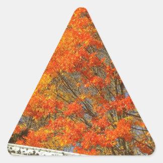 Fallen Triangle Sticker