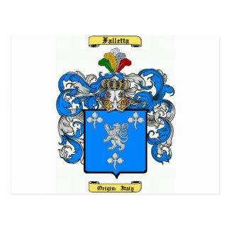 Falletta (int) postcard