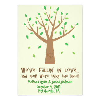 Fallin' In Love Save the Date Card