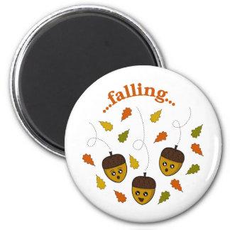 Falling Acorns Magnet