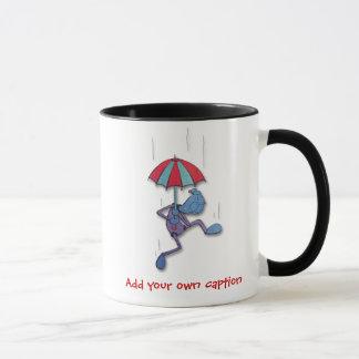 Falling! Add You Own Caption mug