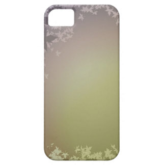 FALLING AUTUMN LEAVES DREAMY GREENS PURPLES iPhone 5 COVERS