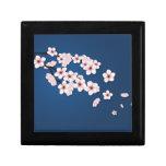Falling Cherry Blossoms Keepsake Box