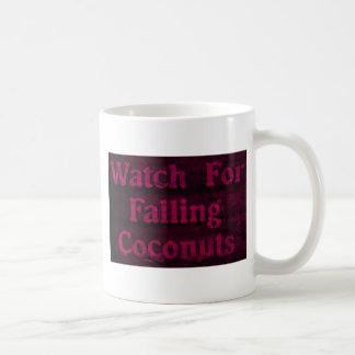 Falling Coconuts Coffee Mug