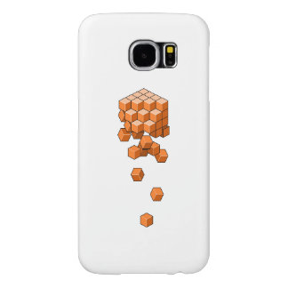 Falling Cubes Samsung Galaxy S6 Case