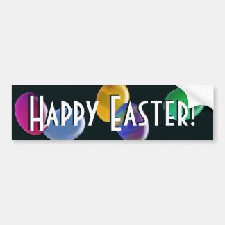 Falling Eggs Happy Easter! Car Bumper Sticker