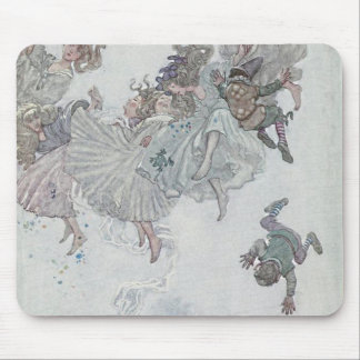 Falling Fairies, Andersen's Fairy Tales Mouse Pad