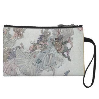 Falling Fairies, Andersen's Fairy Tales Wristlet Wallet