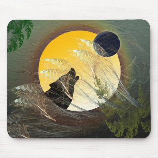 Falling Feathers Mouse Pad