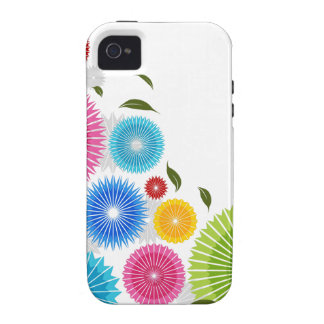 Falling Flowers iPhone 4 Case