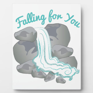 Falling For You Plaque