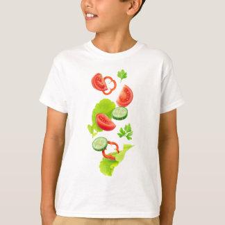 Falling fresh vegetables T-Shirt