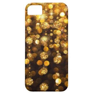 Falling Gold Glitter iPhone SE/5/5s Case