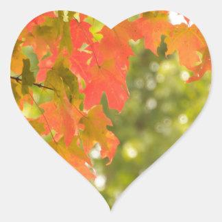 Falling Heart Sticker
