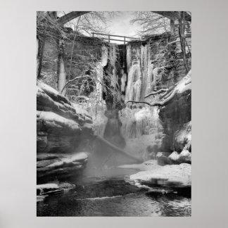 Falling Ice Print