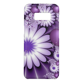 Falling in Love Abstract Flowers & Hearts Fractal Case-Mate Samsung Galaxy S8 Case