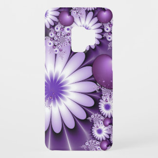 Falling in Love Abstract Flowers & Hearts Fractal Case-Mate Samsung Galaxy S9 Case