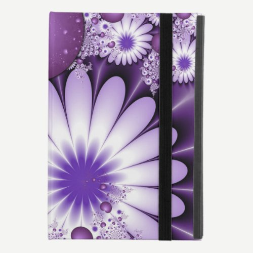 Falling in Love Abstract Flowers & Hearts Fractal iPad Mini 4 Case
